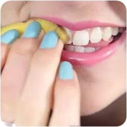 เปลือกกล้วย วิธีแก้ฟันเหลือง